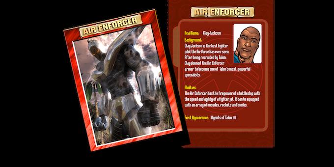 Air Enforcer trading card