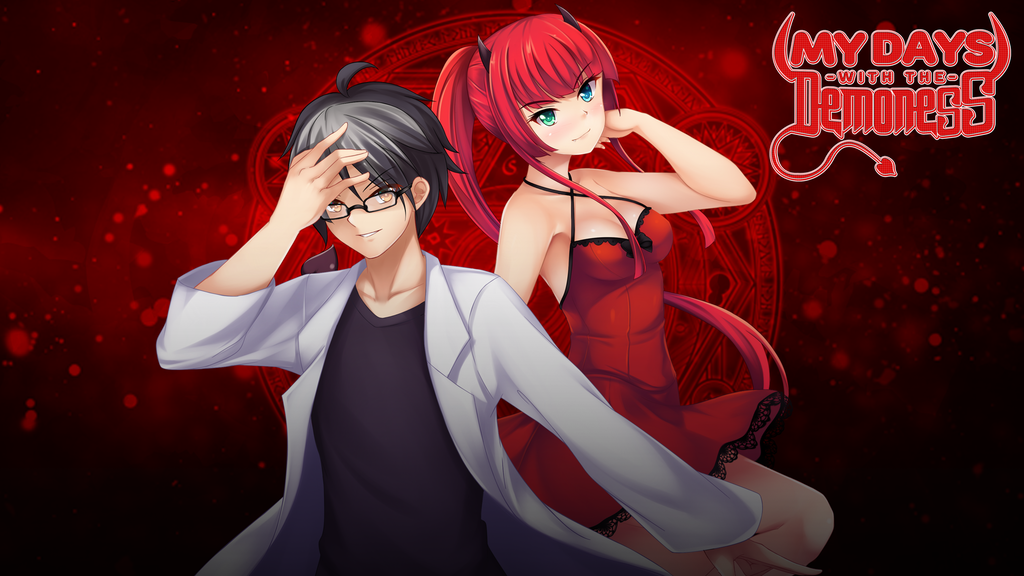 My Days with the Demoness - Romantic Comedy Visual Novel project video thumbnail