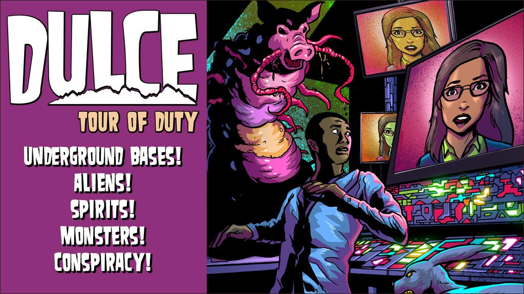 Dulce: Tour of Duty - Full-Color Comic Book project video thumbnail