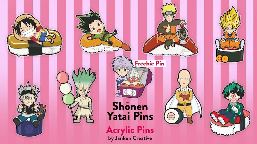 Shōnen Yatai Pins