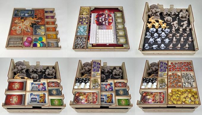 Inferno Core Box Organizer (Click for more pictures.)