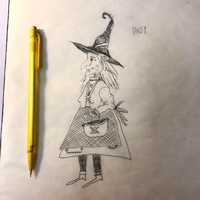 Design Sketch for Puppet (2018)