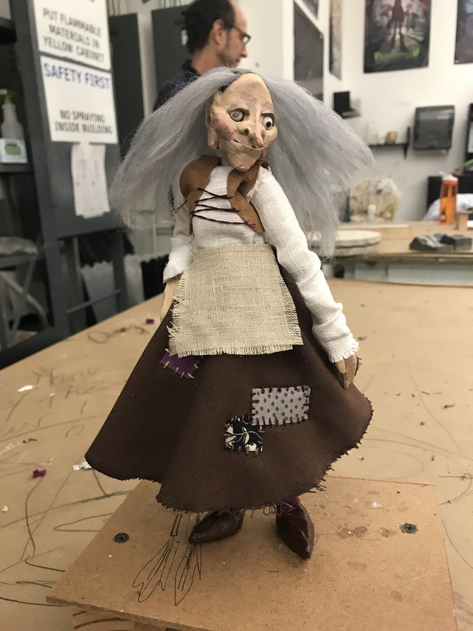 Finished Puppet (2018)