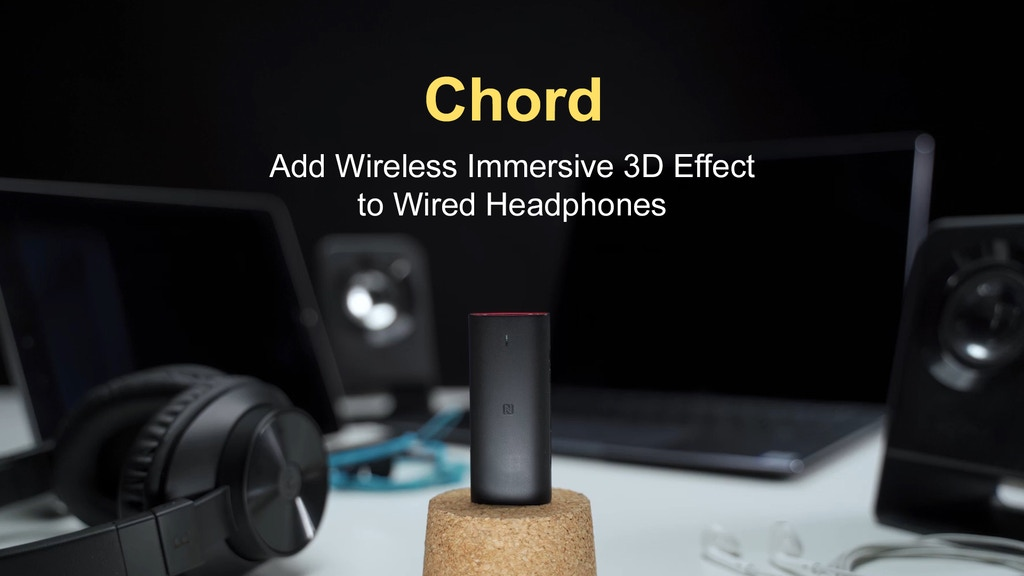 Chord: Add Wireless Immersive 3D Effect to Wired Headphones project video thumbnail