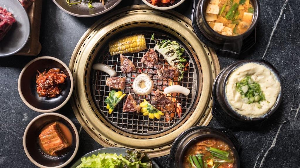 Project image for Korean bbq diner