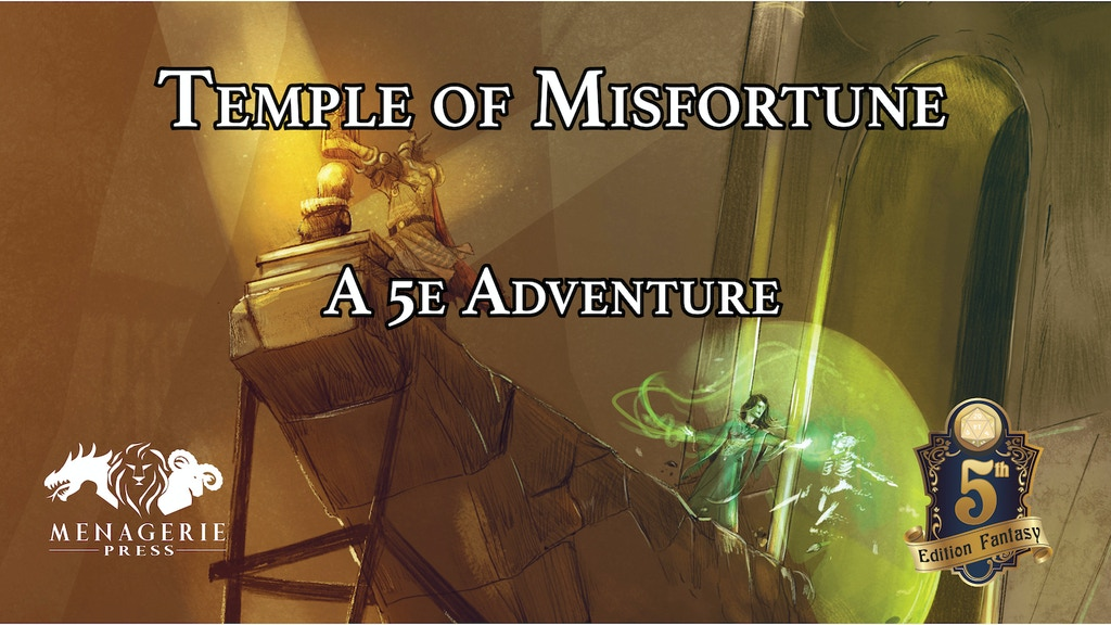 Temple of Misfortune: A D&D 5e Adventure