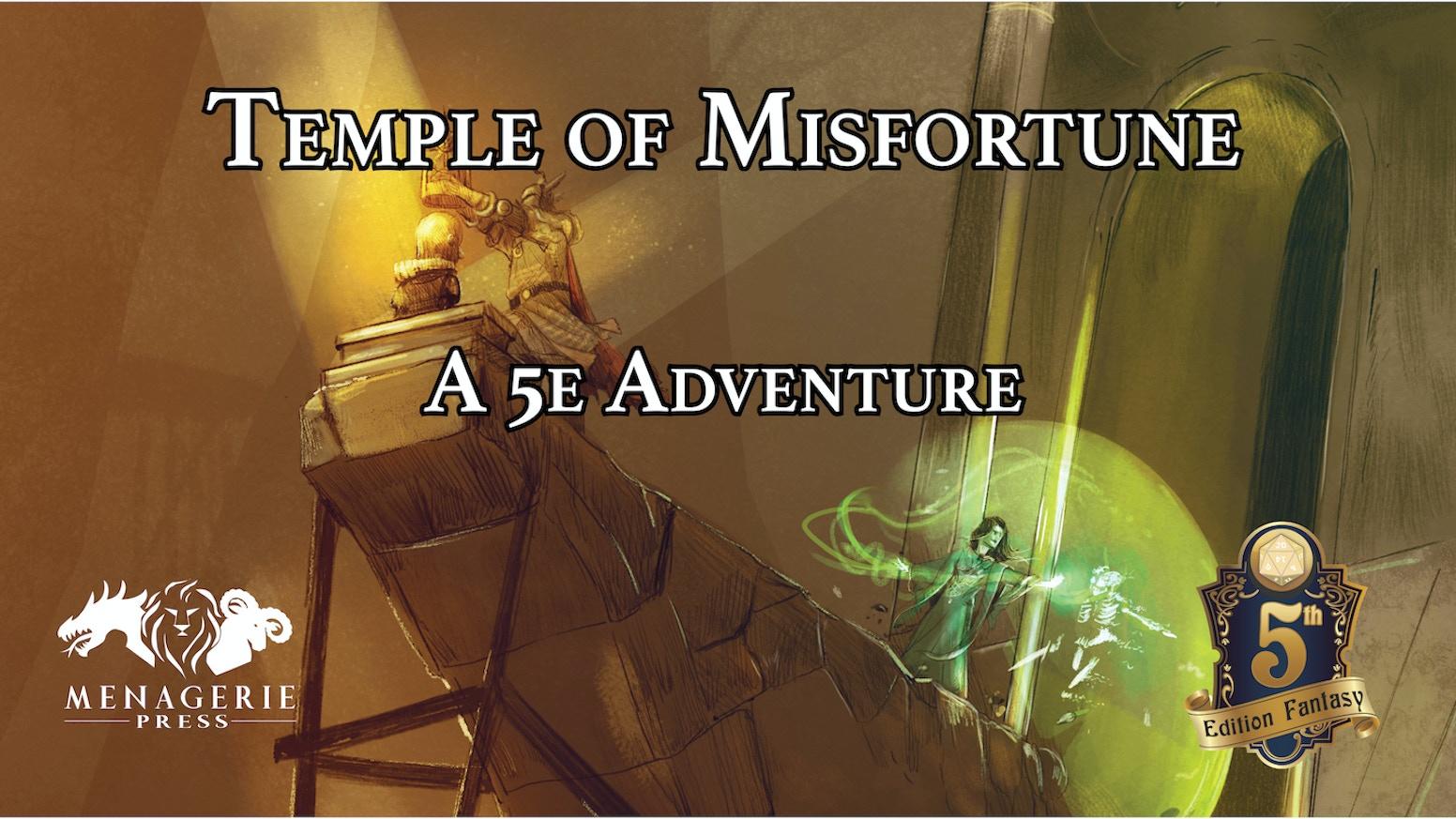 Temple of Misfortune: A D&D 5e Adventure