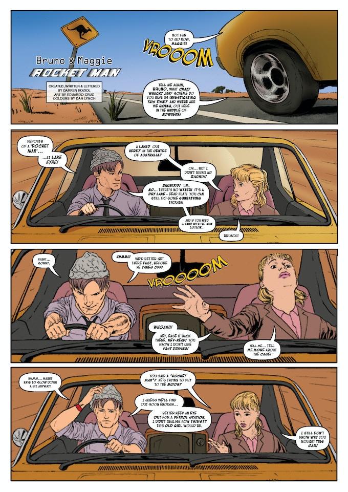 Bruno & Maggie: Rocket Man