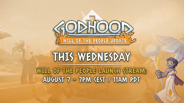 Join the Launch Stream at 7PM CEST/11 AM PDT this Wednesday!
