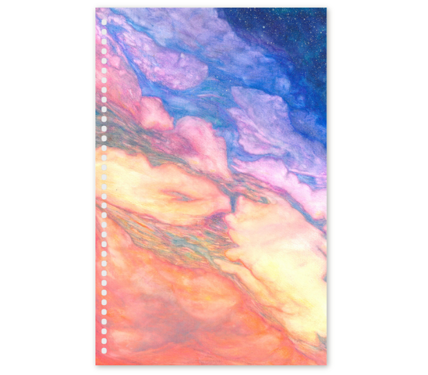 Dream Time Journal Designed by Artist Sevi Mari