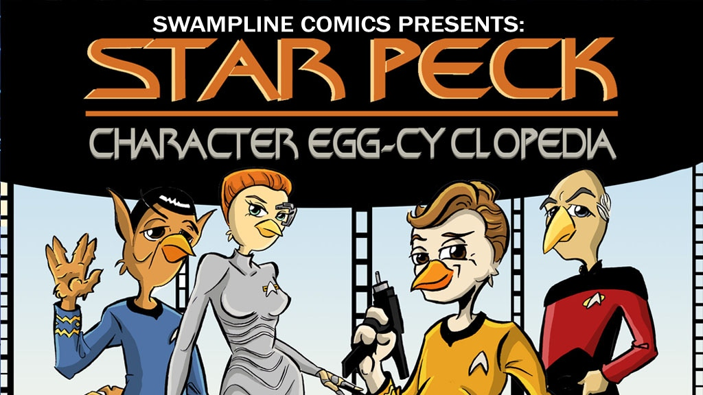 Project image for Star Peck: Character Eggcyclopedia and Merchandise