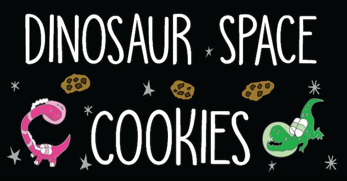 Dinosaur * Space * Cookies Enamel Pins
