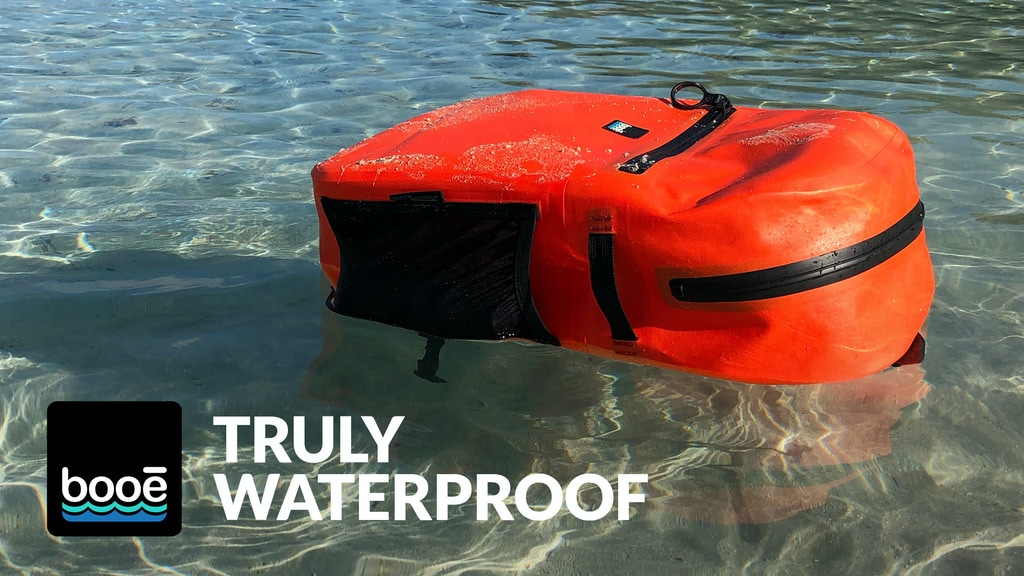 The Booē Waterproof Backpack project video thumbnail