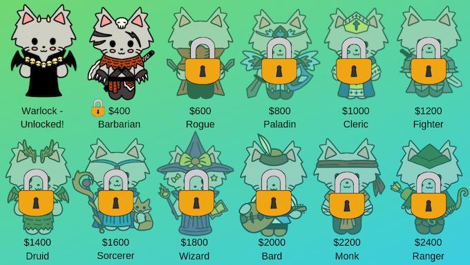 The Warlock pin has been unlocked!