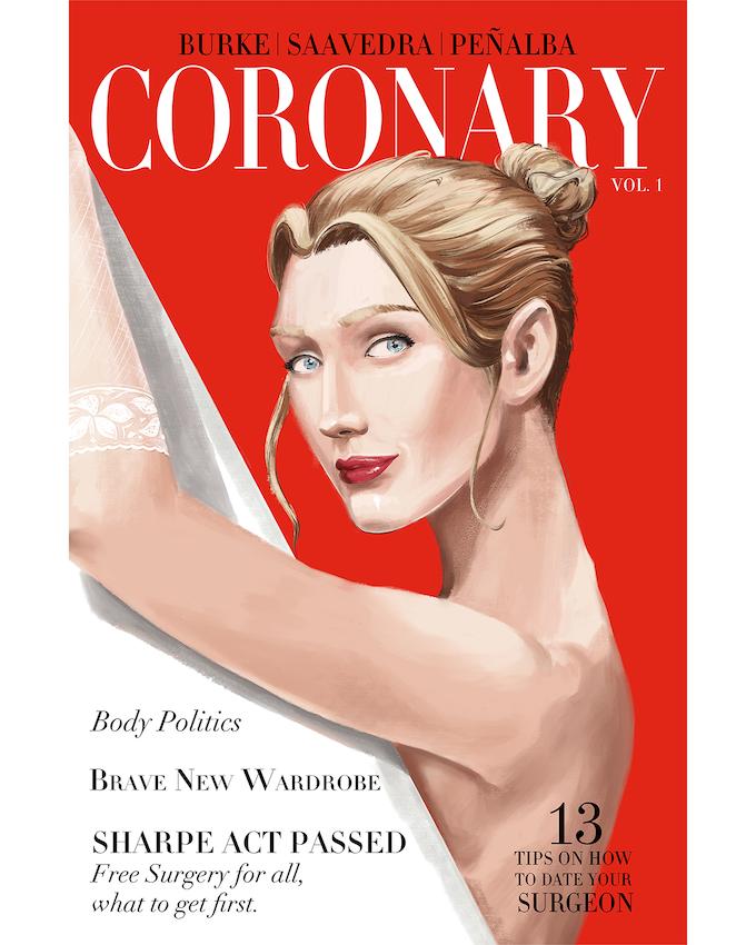 Coronary Volume 1 cover.