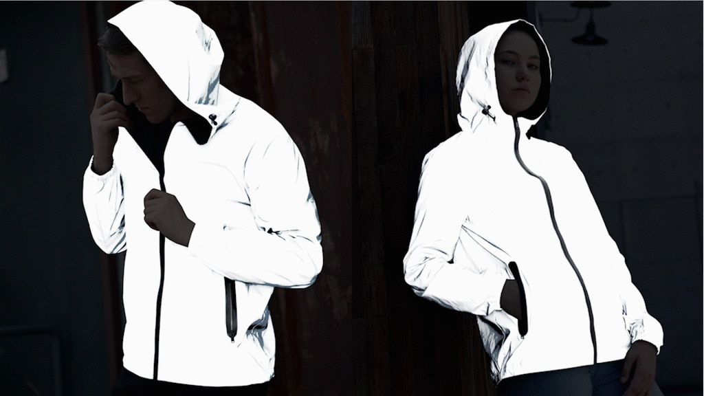 DuoTek - The Ultralight Reflective & Reversible Jacket project video thumbnail