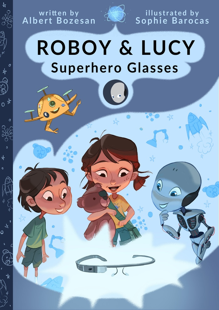 Roboy & Lucy is a hardcover and digital comic bookteaching about the importance of friendship and curiosity and how powerful technologies can be used for a good purpose!And, by the way, it is aboutREAL innovation, REAL entrepreneur and REAL robot!