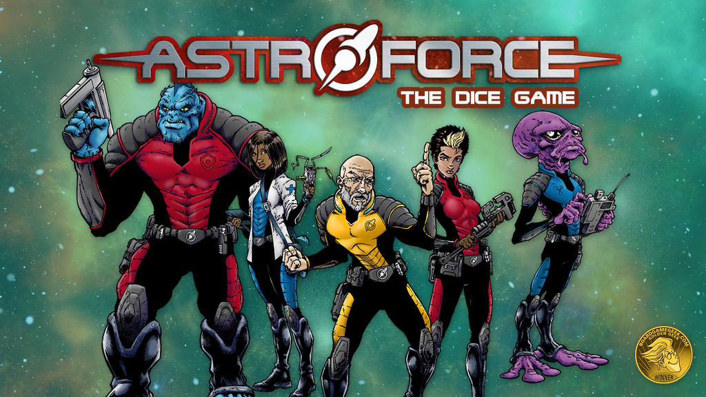 Astroforce: The Dice Game project video thumbnail