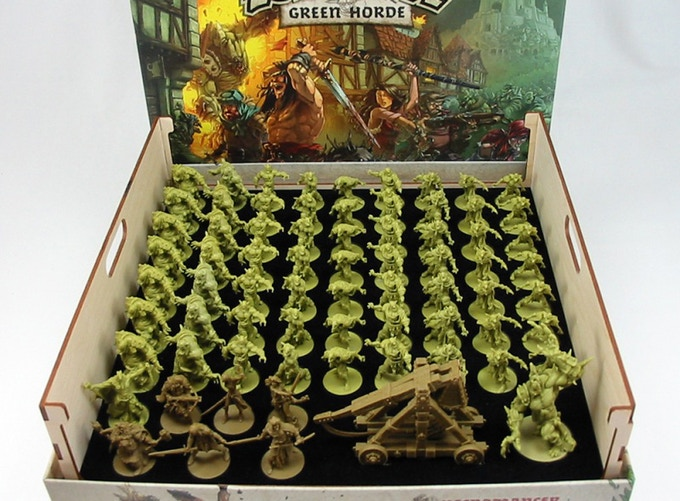 Green Horde Core Box Organizer (Click for more pictures.)