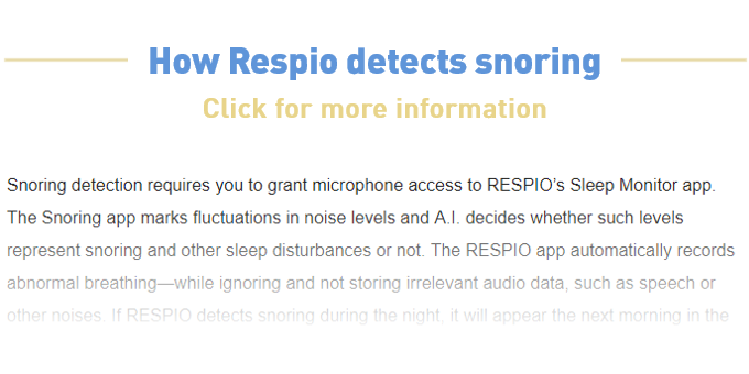 Respio Sleep Coach: Reveal What is Sabotaging Your Sleep by
