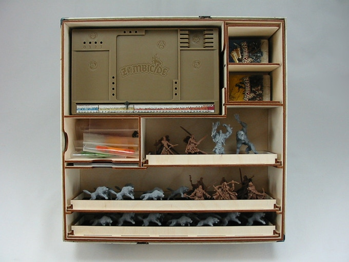 Black Plague Core Box with Wulfsburg Expansion Organizer (Click for more pictures.)