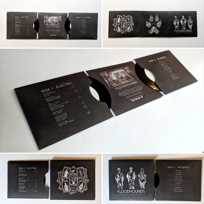 The Special Edition 2 disc FloodHounds Discography