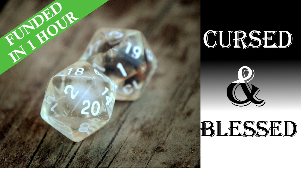Cursed & Blessed D20 Dice project video thumbnail