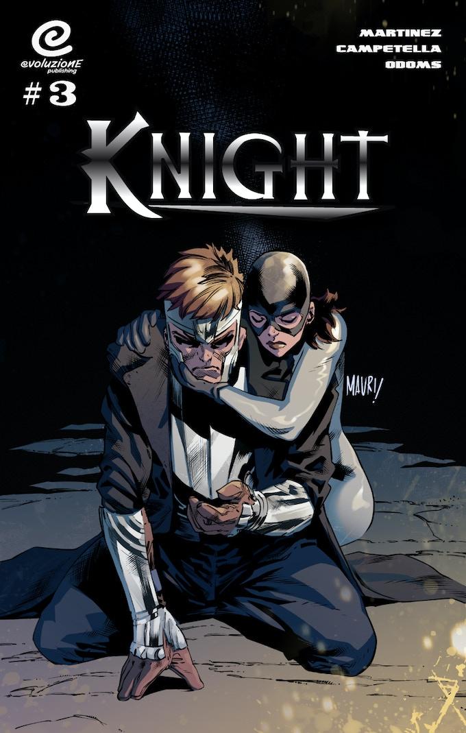 Knight #3 - Superhero fantasy comicbook