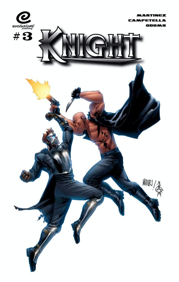 Variant cover by Mauricio Campetella and Marcus Odoms.