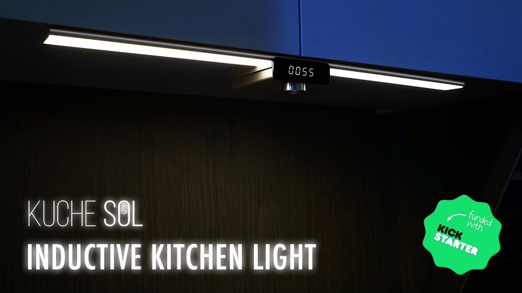 The World's Most Artistic Smart Hand-Inductive Kitchen Light