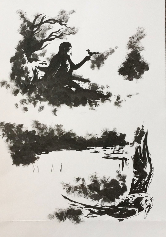 Original Art Page 14 - Sam Bentley - Cognition #3