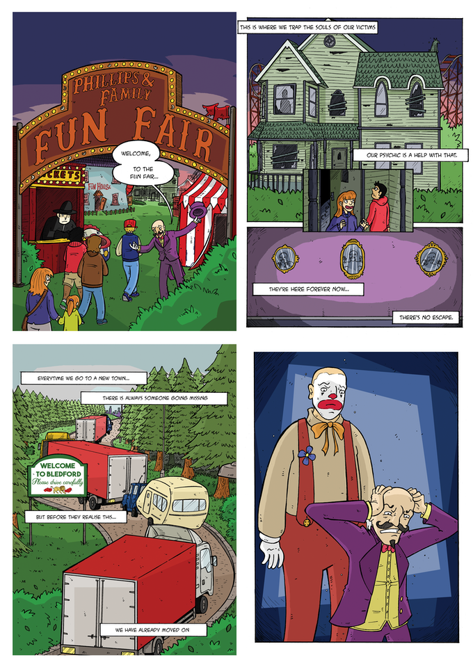 Example Pages from Funfair