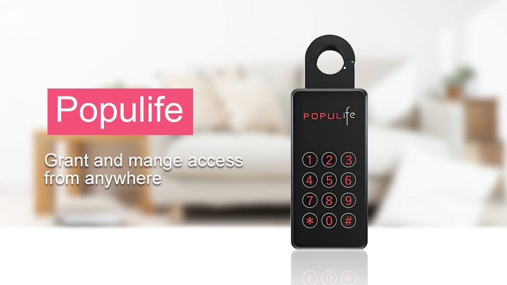 Populife:A Smart Key Box with Bluetooth & Remote App Control project video thumbnail