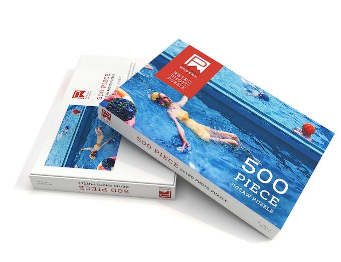 Swimming Ladies Box Detailed