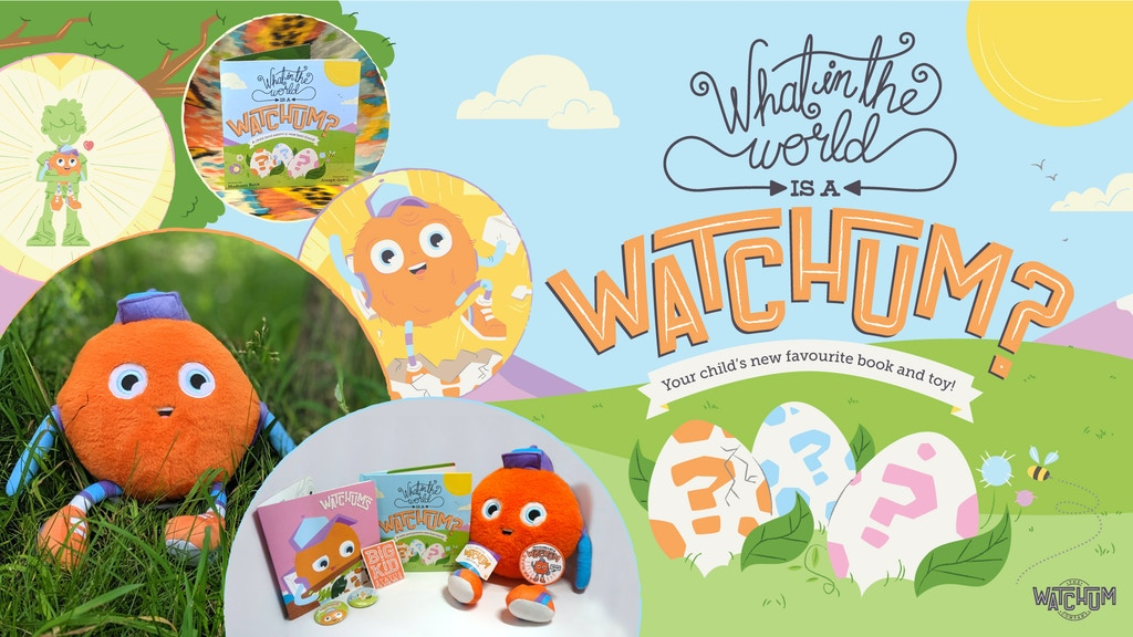 What in the World is a Watchum? A children's book and stuffy project video thumbnail