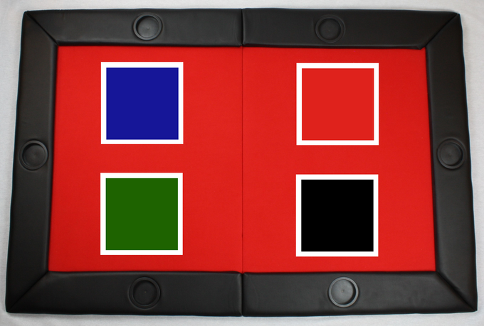 4 Felt Colors Available (Blue, Red, Green and Black)