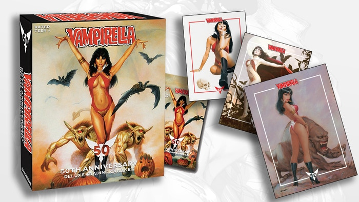 Celebrating the history of one of comics' most enduring independent characters with these Deluxe Ultra-Premium trading cards.