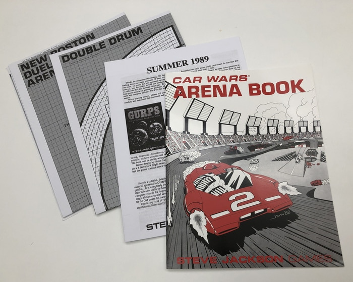 Car Wars Arena Book tooling sample. This looks great!