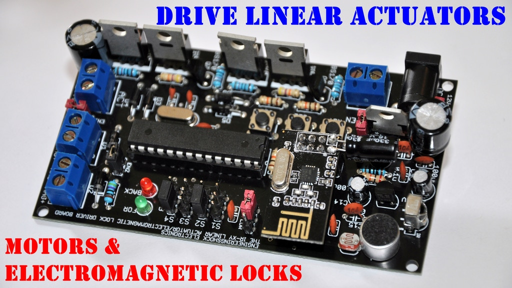 The IR-XY Linear Actuator & Electromagnetic Lock Driver Set! project video thumbnail