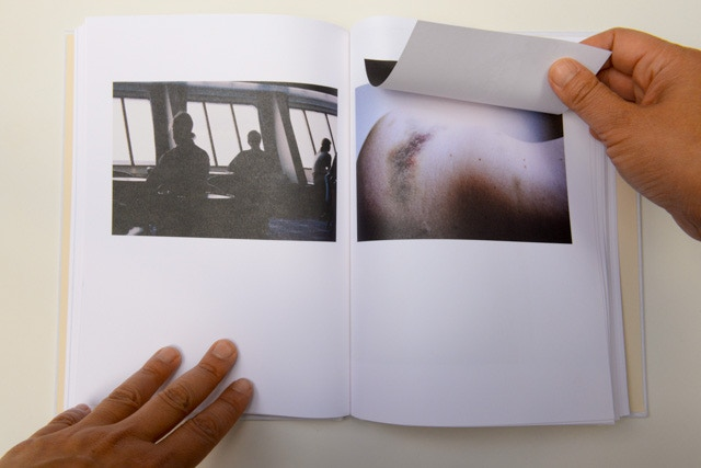 Speaking of scars, 2012 - Finalist in the Aperture Paris Photo First Book Award