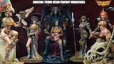 Stunning 75mm Resin Fantasy Miniatures thumbnail