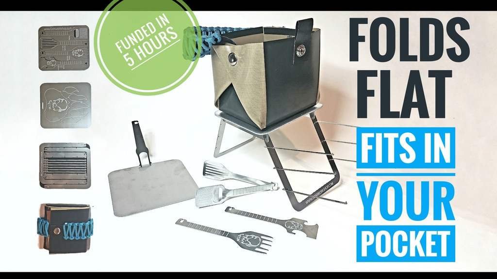 Complete Outdoor Cooking Set that Fits in Your Pocket project video thumbnail