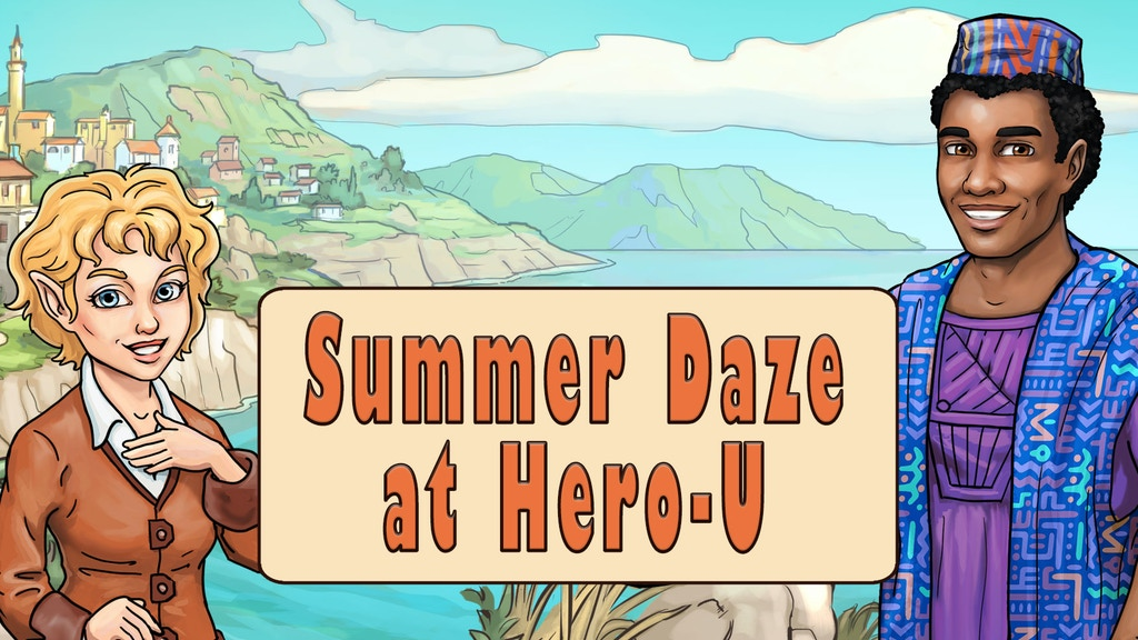 Summer Daze at Hero-U project video thumbnail