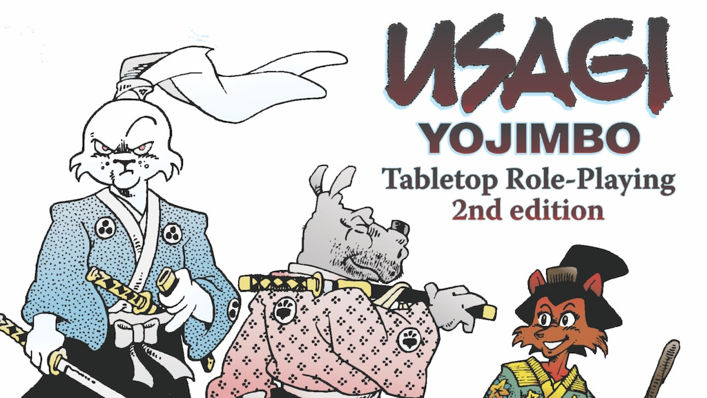 Project image for USAGI YOJIMBO Tabletop Role-Playing Game — Second Edition