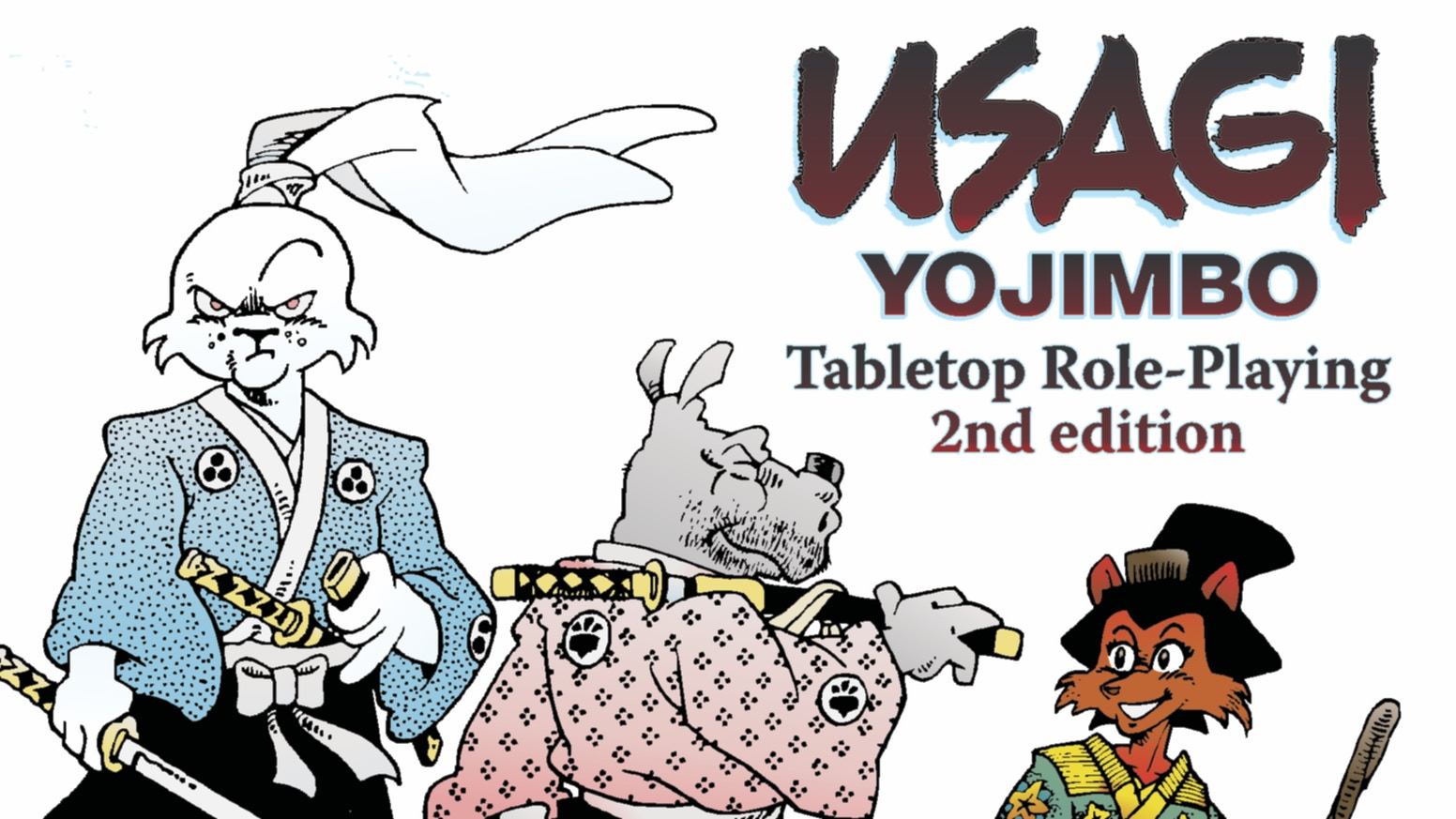 Stan Sakai's fantastic vision of 17th-century Japan returns to your tabletop, Powered by the Apocalypse