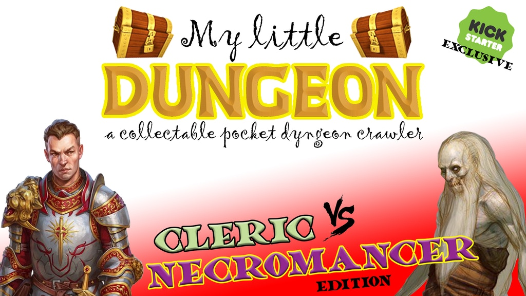MY LITTLE DUNGEON: Cleric Vs Necromancer edition (phase 01) project video thumbnail