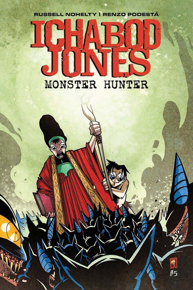 Cover for Ichabod Jones Monster Hunter #5