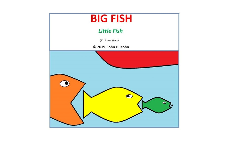 Big Fish/Little Fish - a (PnP) solo board game project video thumbnail