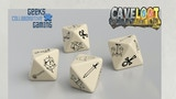 Virtue Symbol 8-Sided (D8) Engraved Polymer Dice thumbnail