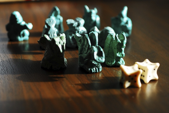 Some evil foes and the Dragons